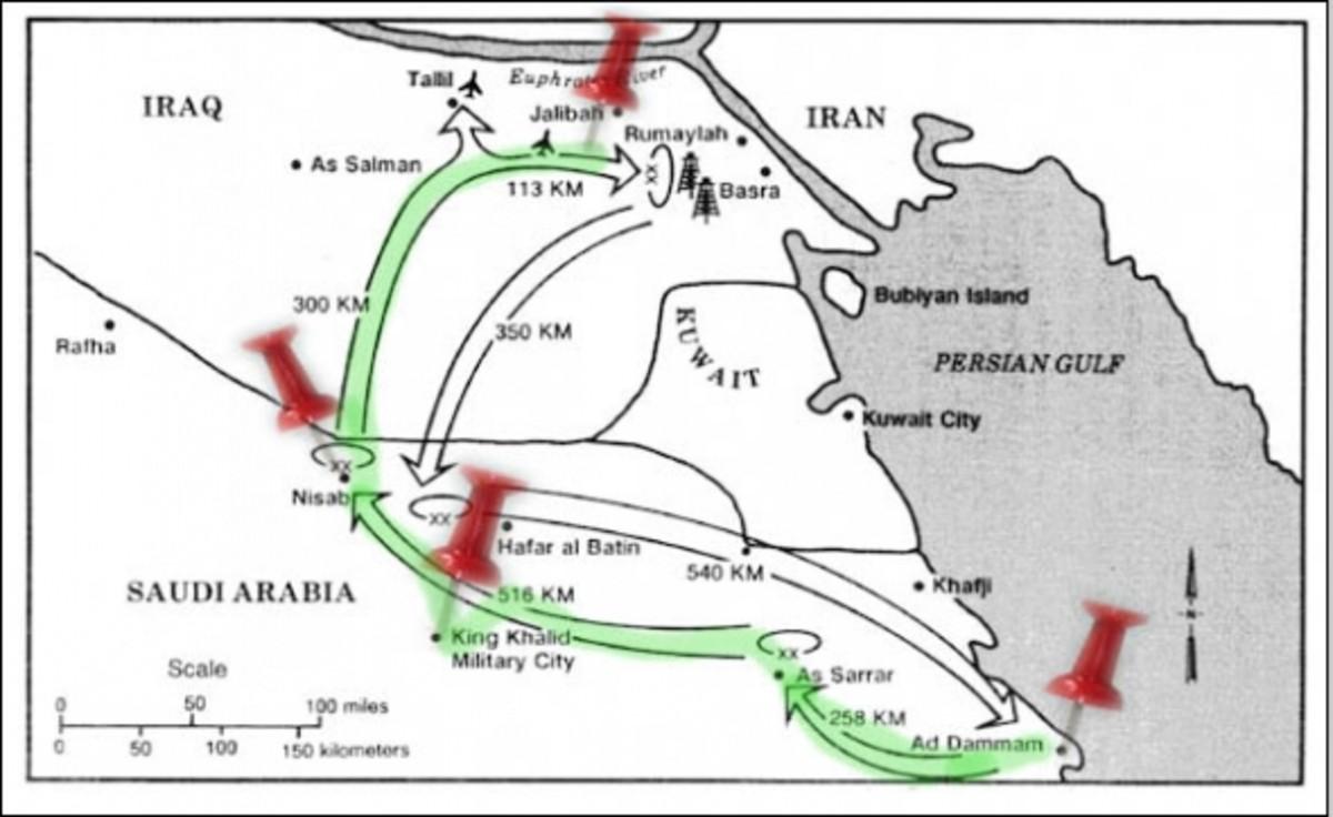 Desert Storm - Jalibah Iraq