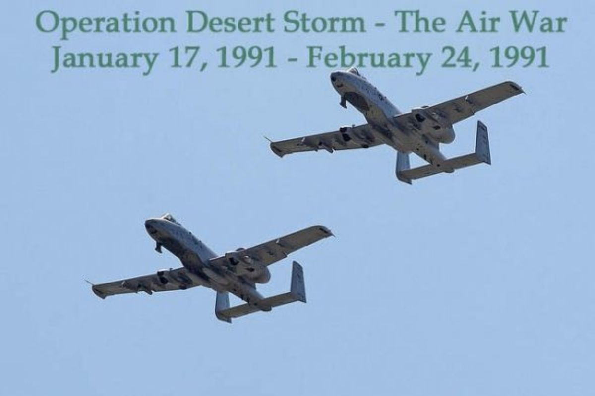 Desert Storm - Air War