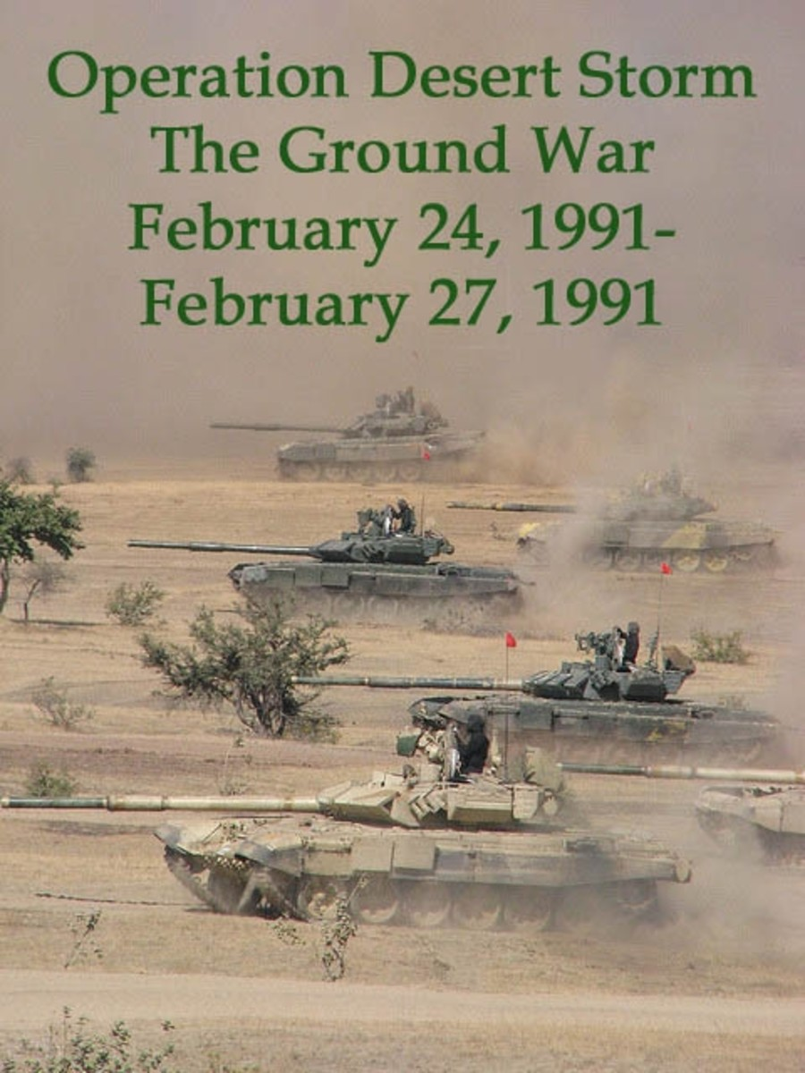 Operation Desert Storm - The Ground War