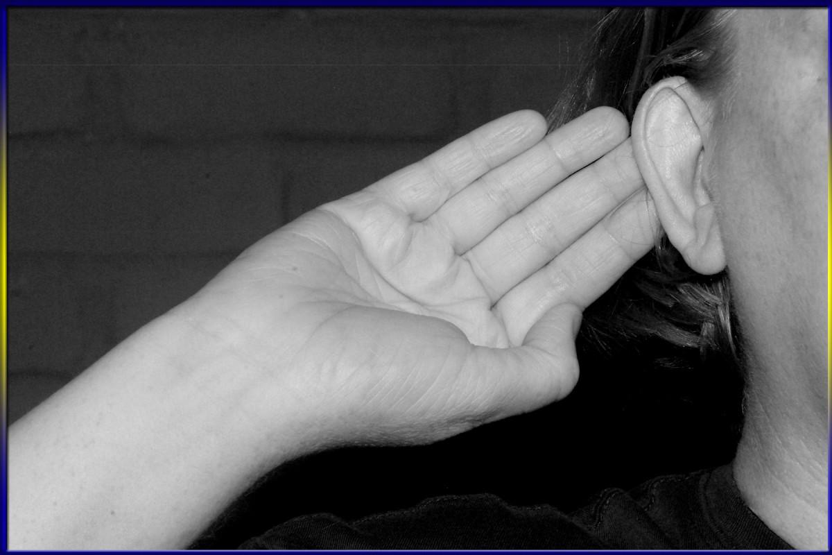 Silence Hand Gesture