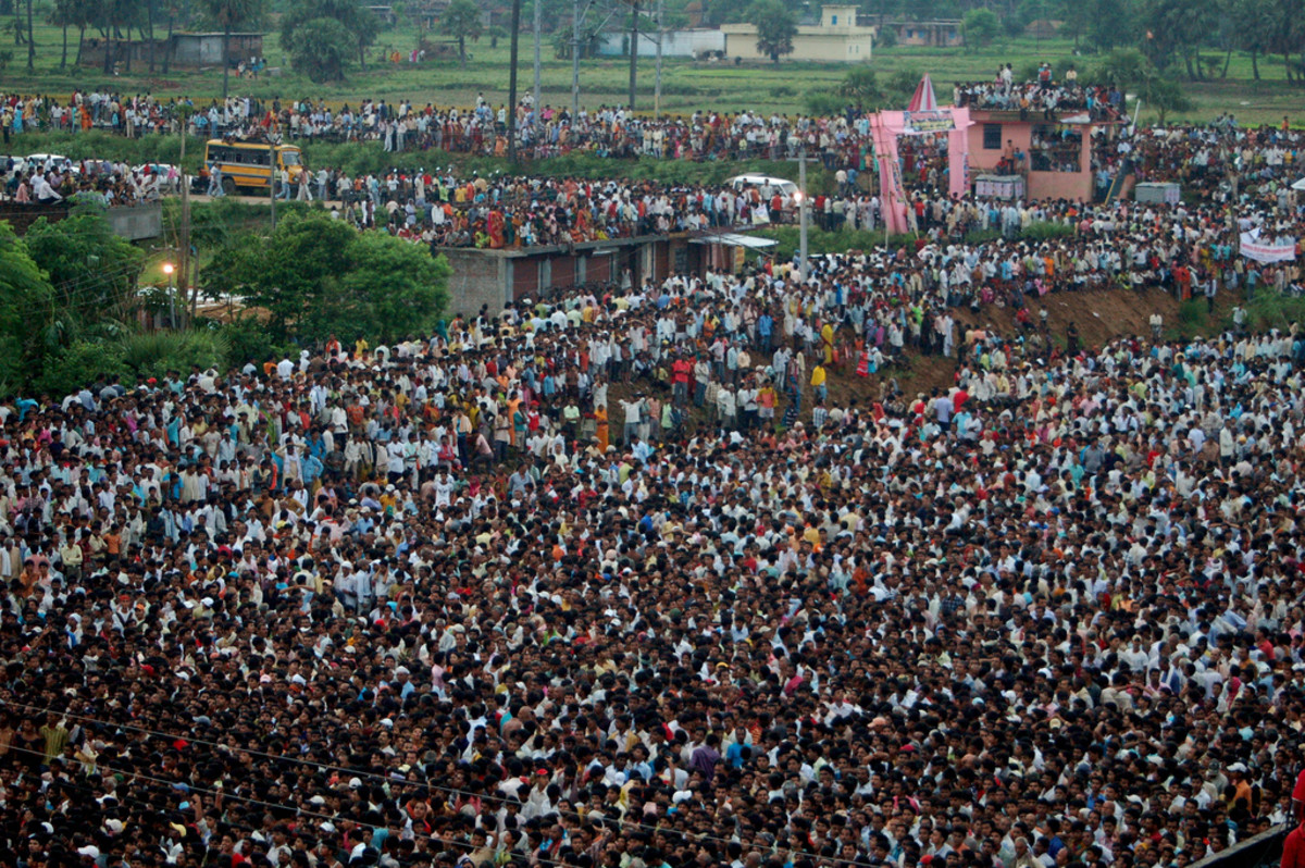 India, 2nd country with the highest population in the world.