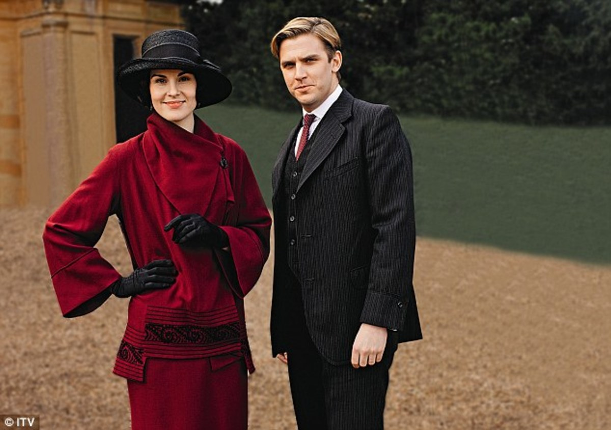 Matthew and Mary - Season 3 and 1920s Fashion