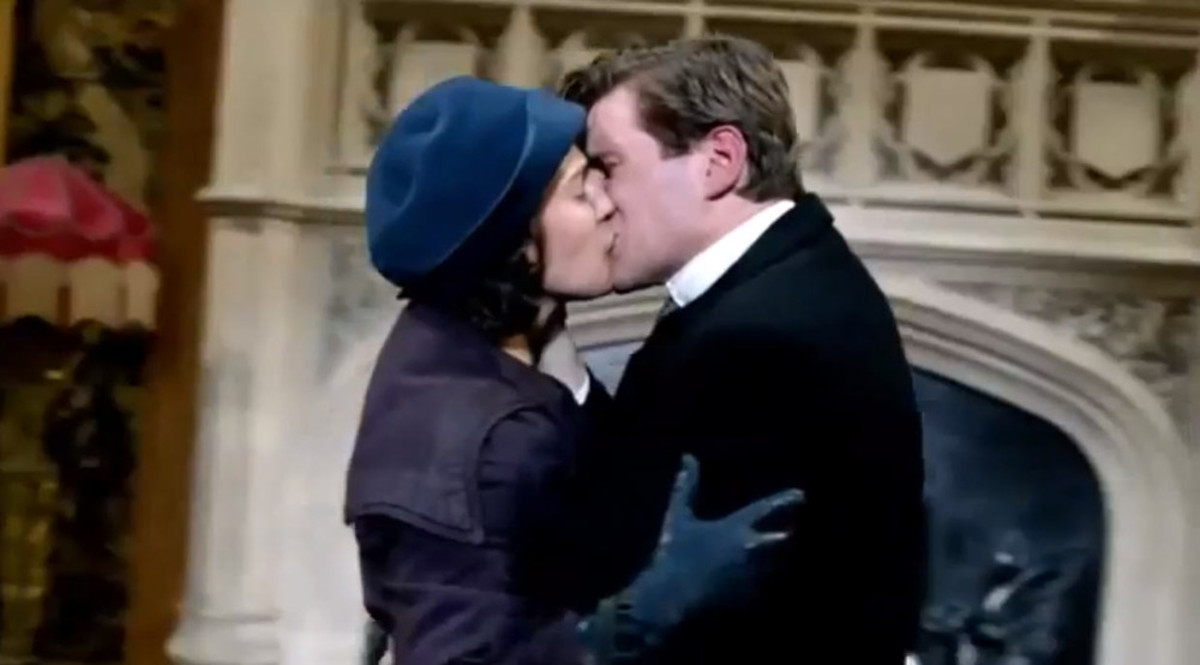 Tom and Sybil Downton Abbey Season 3