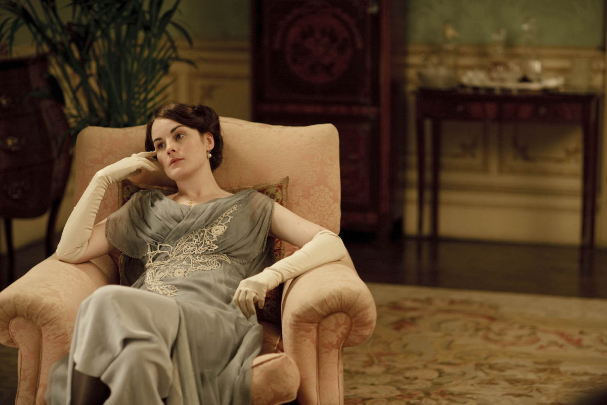 Lady Mary, Thinking about Matthew?
