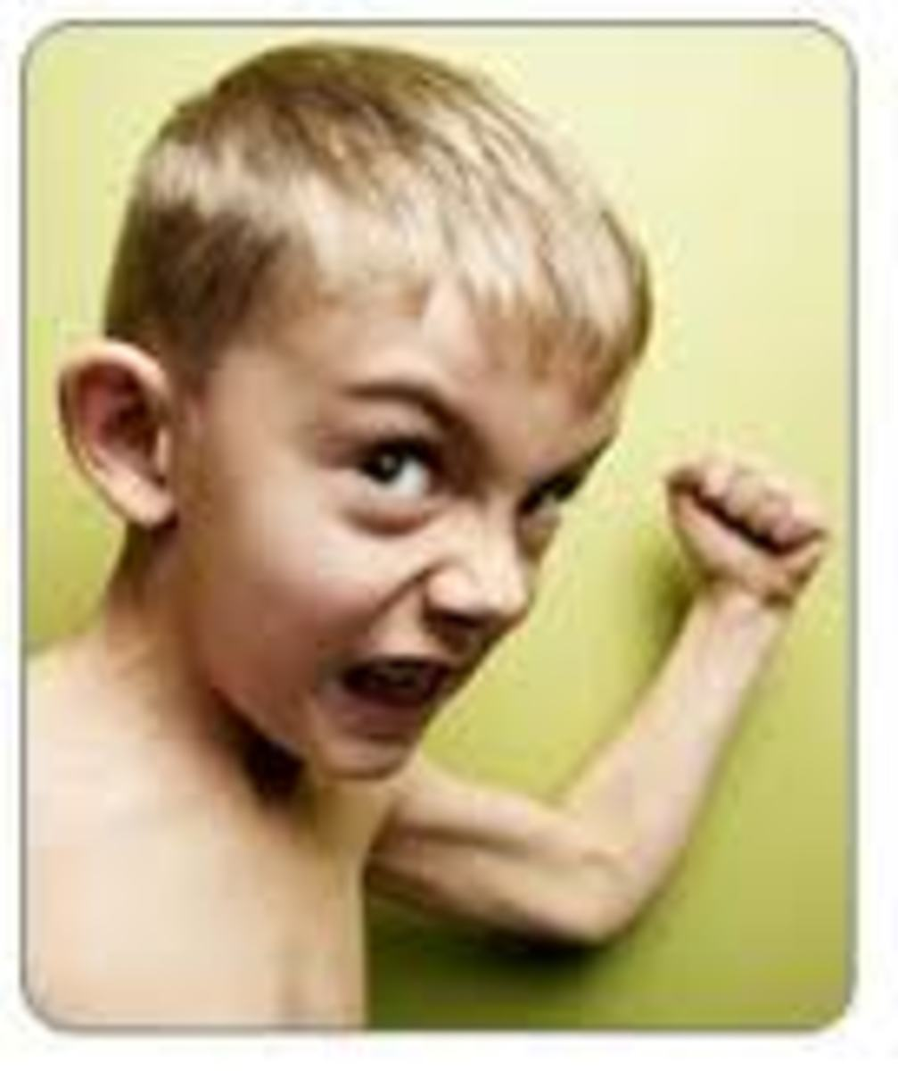 Other children become highly defiant & rebellious, acting out in negative ways as a result of being constantly told that they are less than perfect.