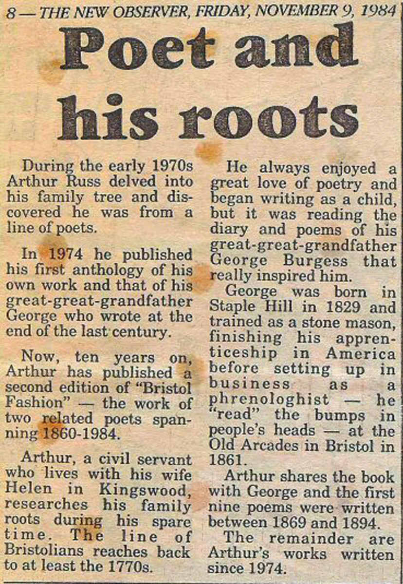 Poet and his roots.