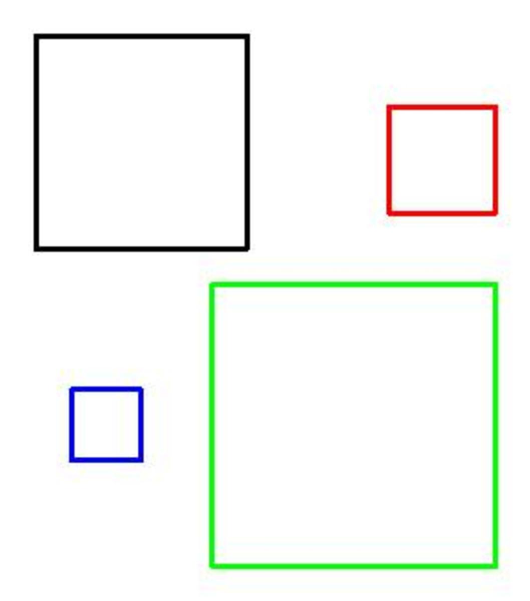 What are the math facts about a square? (mathematical properties of a square)