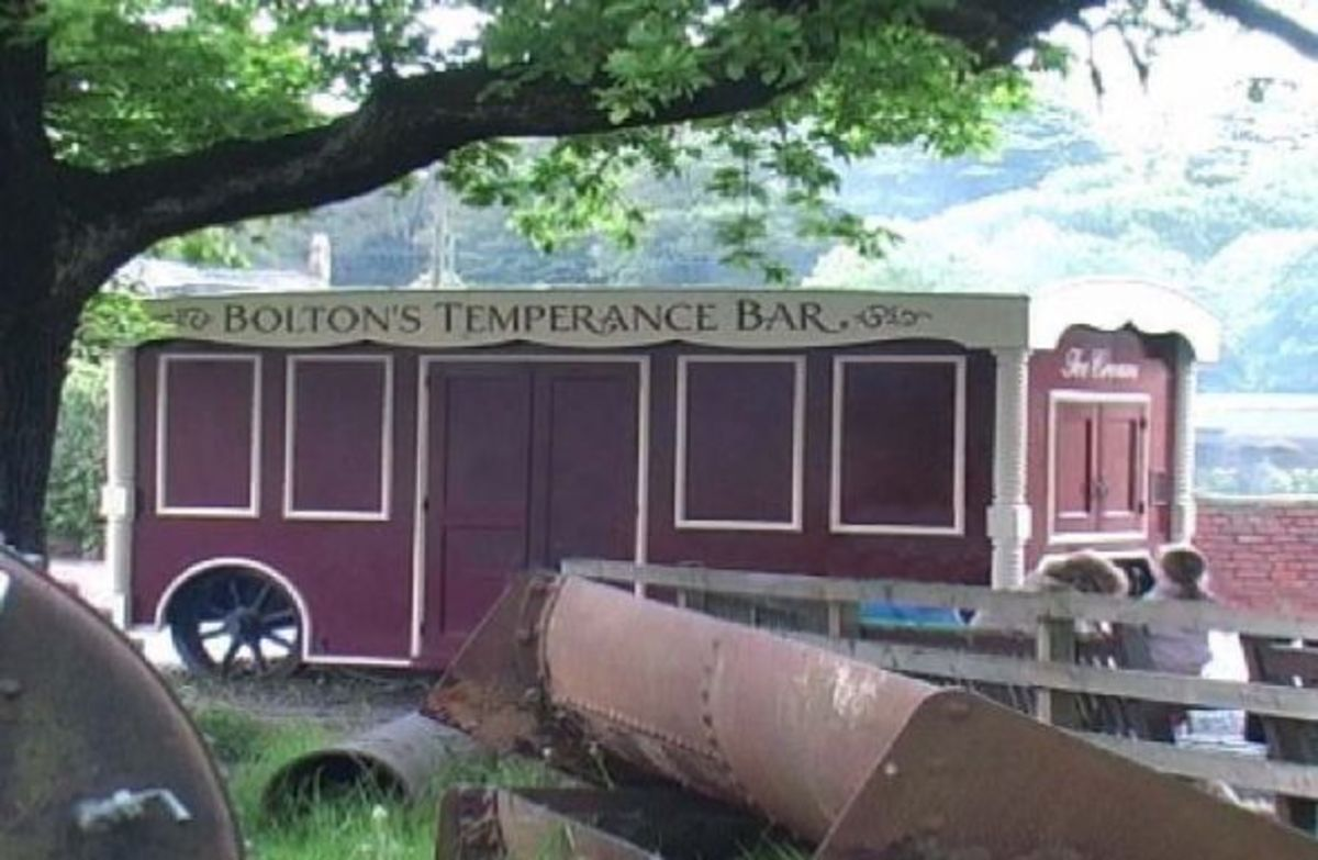 Bolton Temperance Bar (photographed at Beamish)
