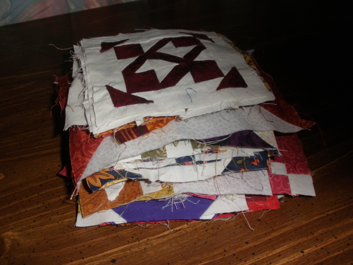 One of the quilting terms that is frequently used is quilt blocks. Quilt blocks are parts of a quilt.
