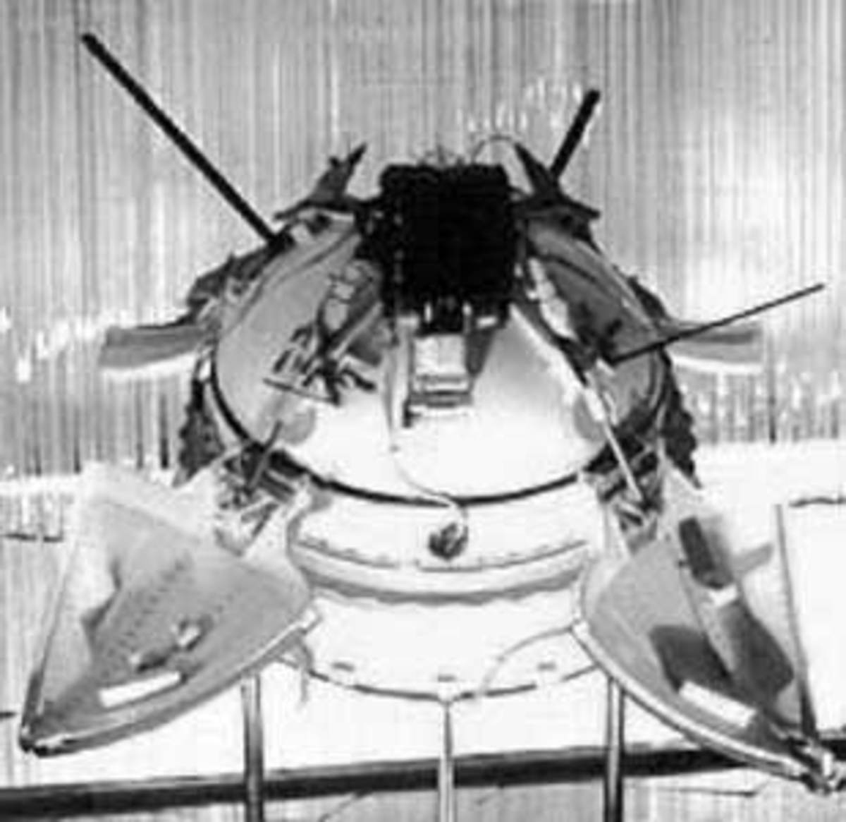 Mars 3 Lander, the first craft to land on Mars in 1971 from the former Soviet Union (now Russia)