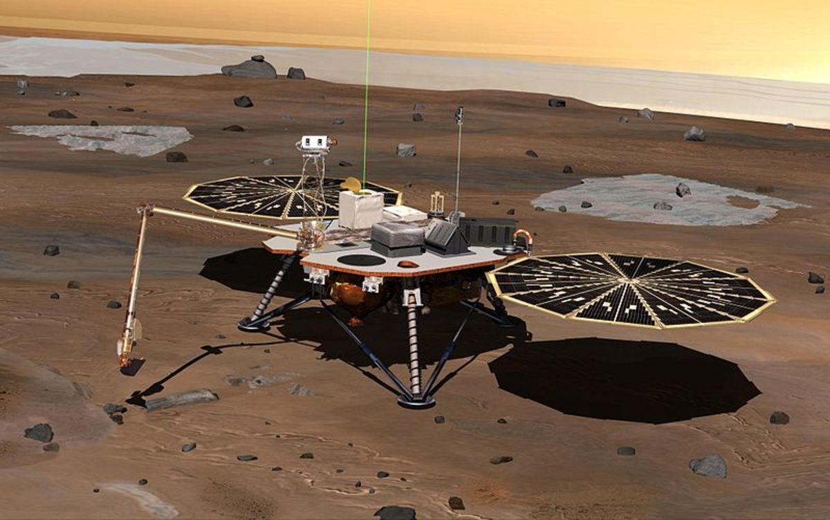 Phoenix landed on Mars in June 2008 and was the last probe to land successfully on Mars until the successful landing of Curiosity August 2012.