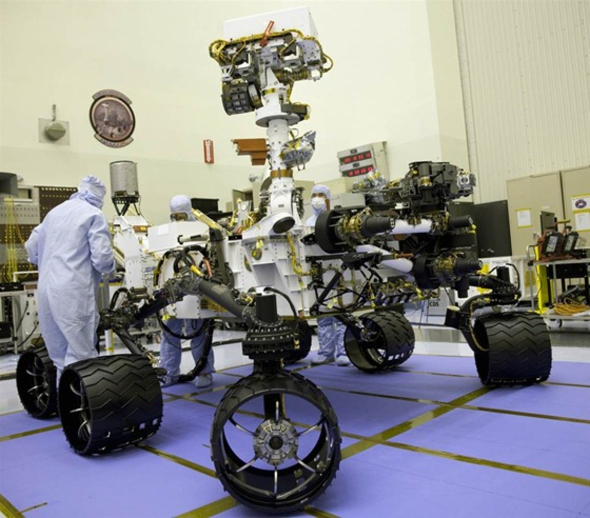Curiosity Rover, is the largest rover ever sent to Mars.