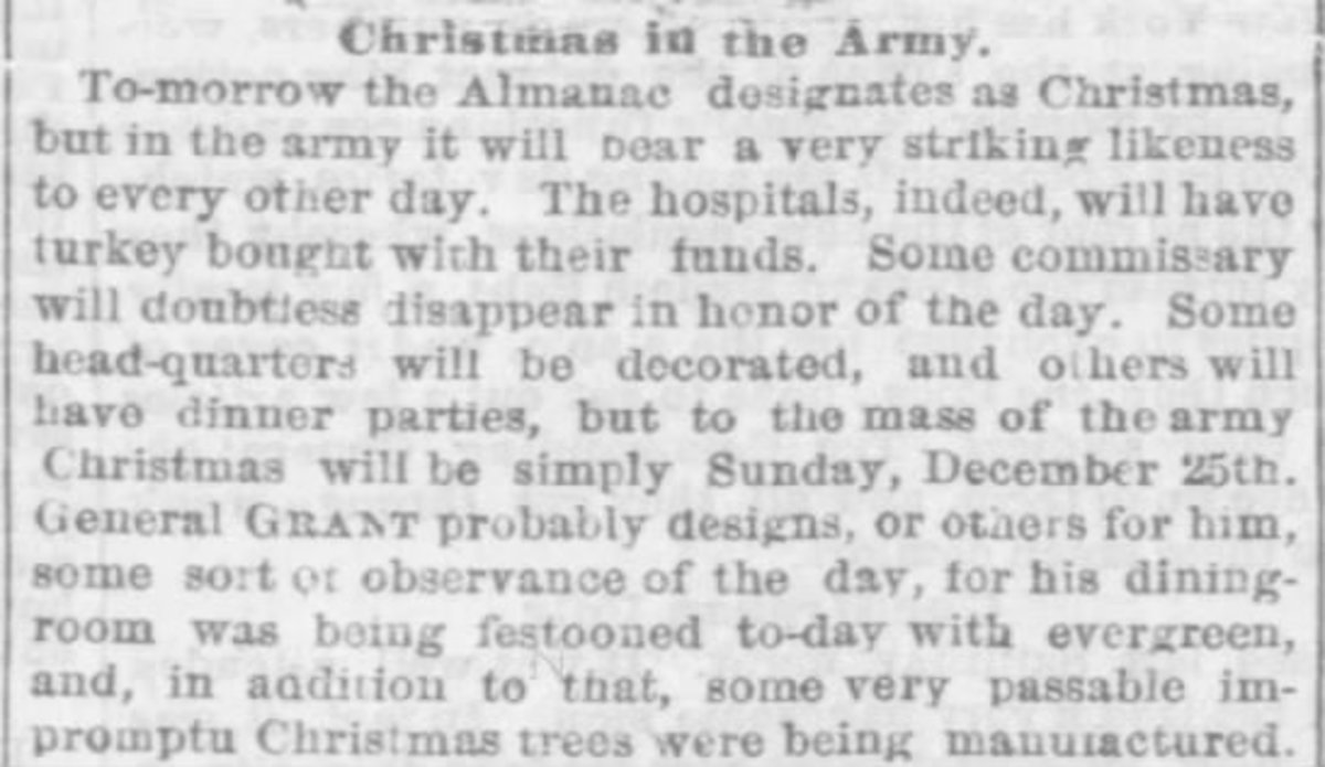 Clipped from The Philadelphia Inquirer, 29 Dec 1864, Thu, Page 1 (see below for the transcription of this clipping)