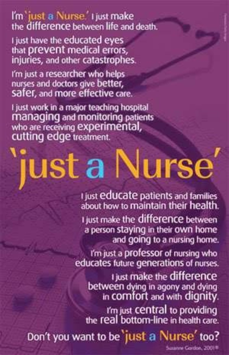 I Am But A Seed In the Nursing Profession