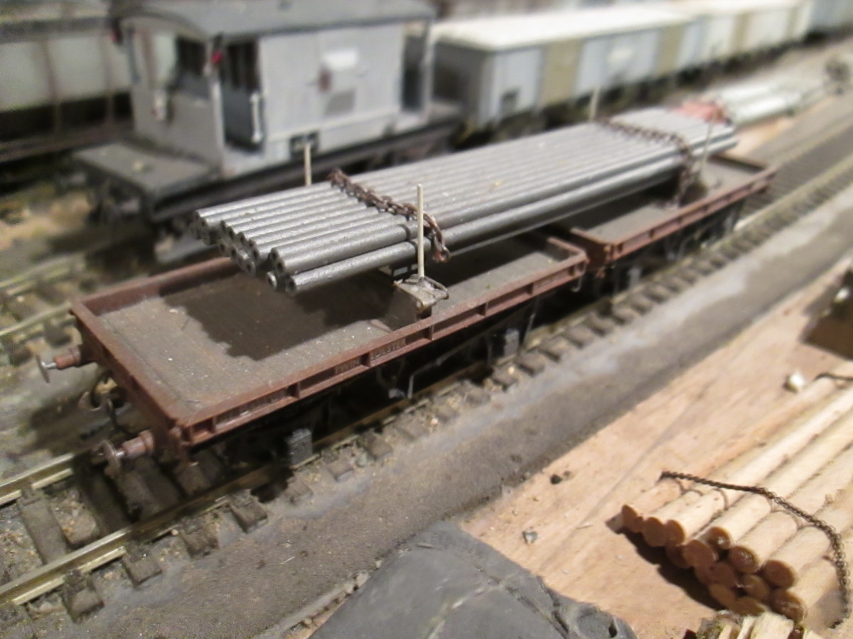 Rites of Passage for a Model Railway - 9: Low-Sided, Flat and Bogie Freight Stock; Engineers' Department