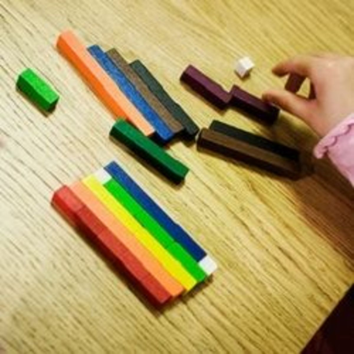 Math Fun with Cuisenaire Rods