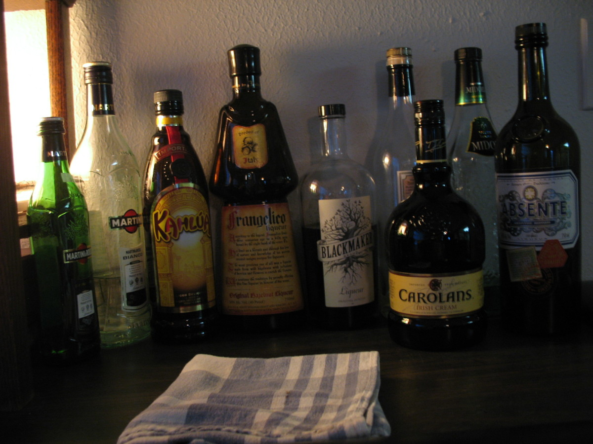 Stocking a Home Bar on a Budget - Liqueurs, Aperitifs and Digestifs