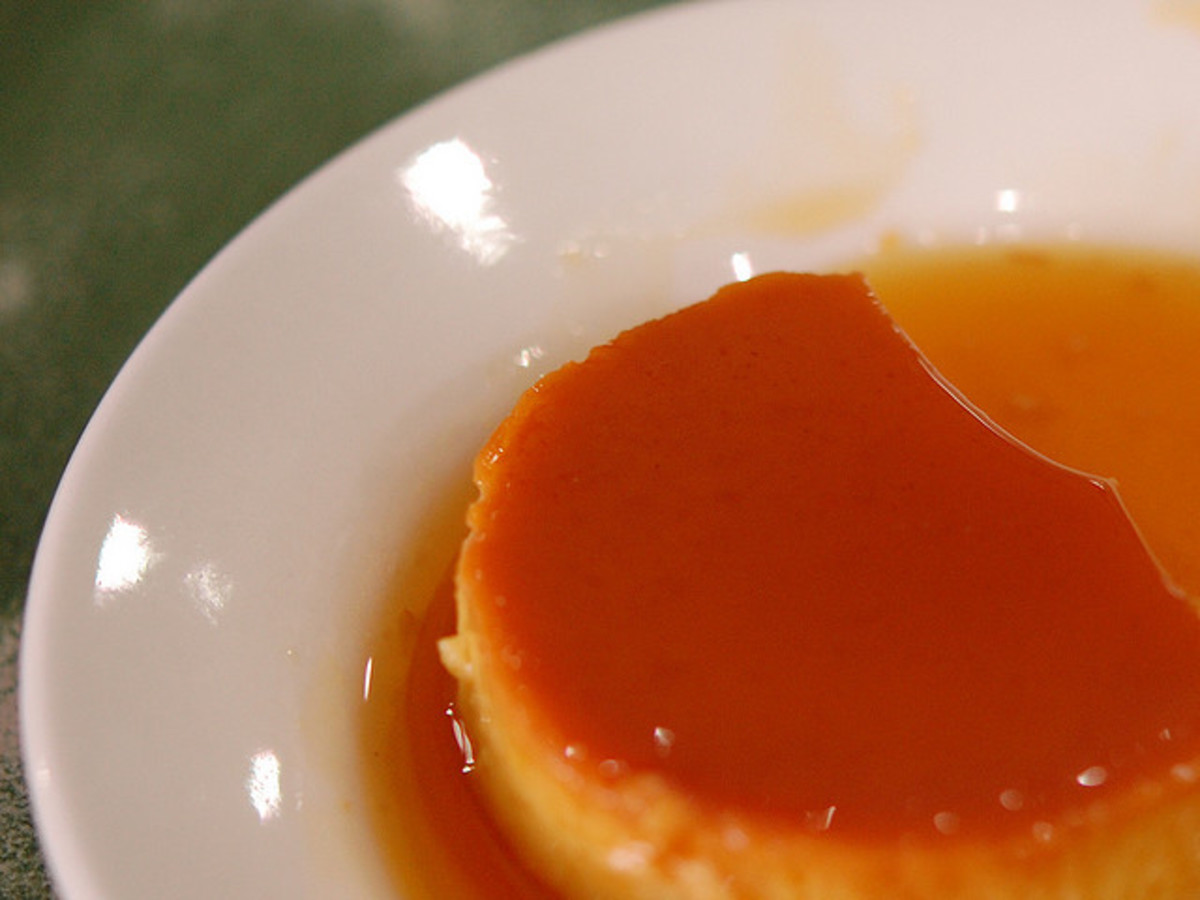 The secret of getting the most out of every bite of Leche Flan is out!