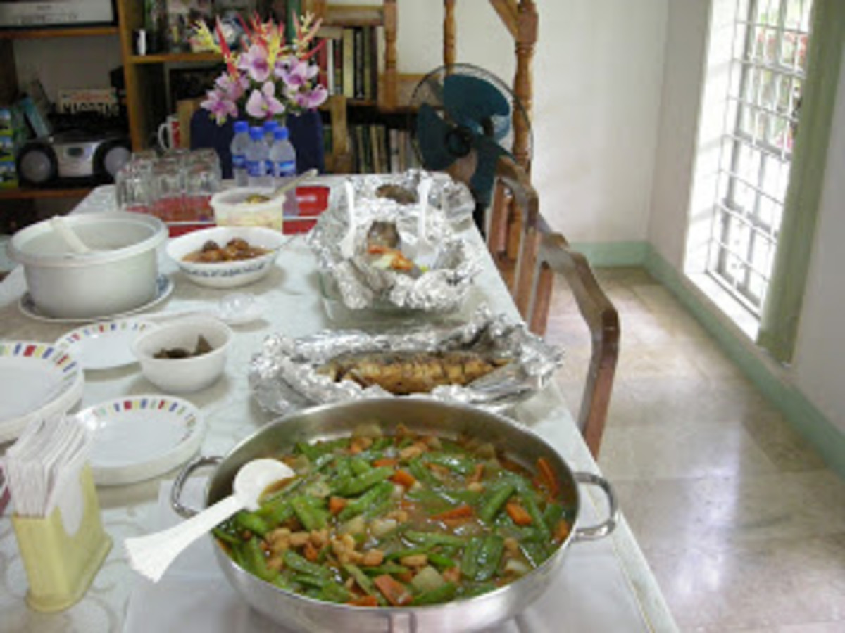 Some of the Pinoy Dishes that I love
