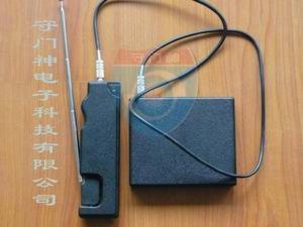 A Chinese device maker touting MOLE GT200 device (yep, it's got names mixed up)