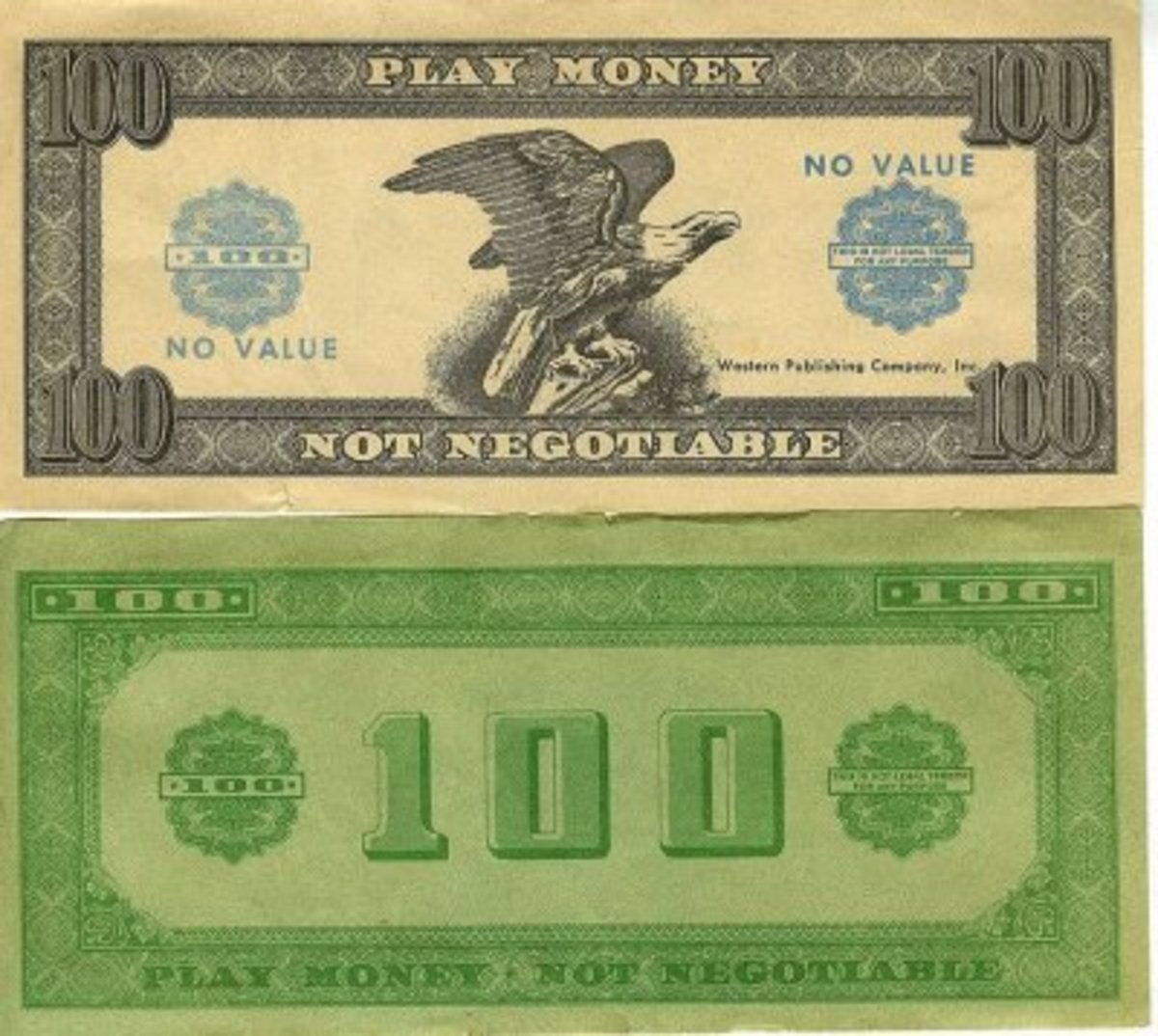 Free Printable Play Money For Teaching Kids | Hubpages