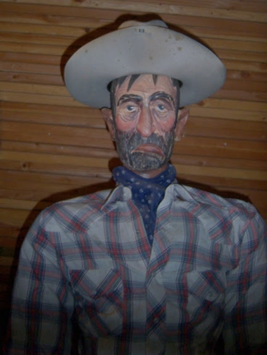 Sad Eye Joe has changed. This one has a hat but the cigar is gone. Politically correct?