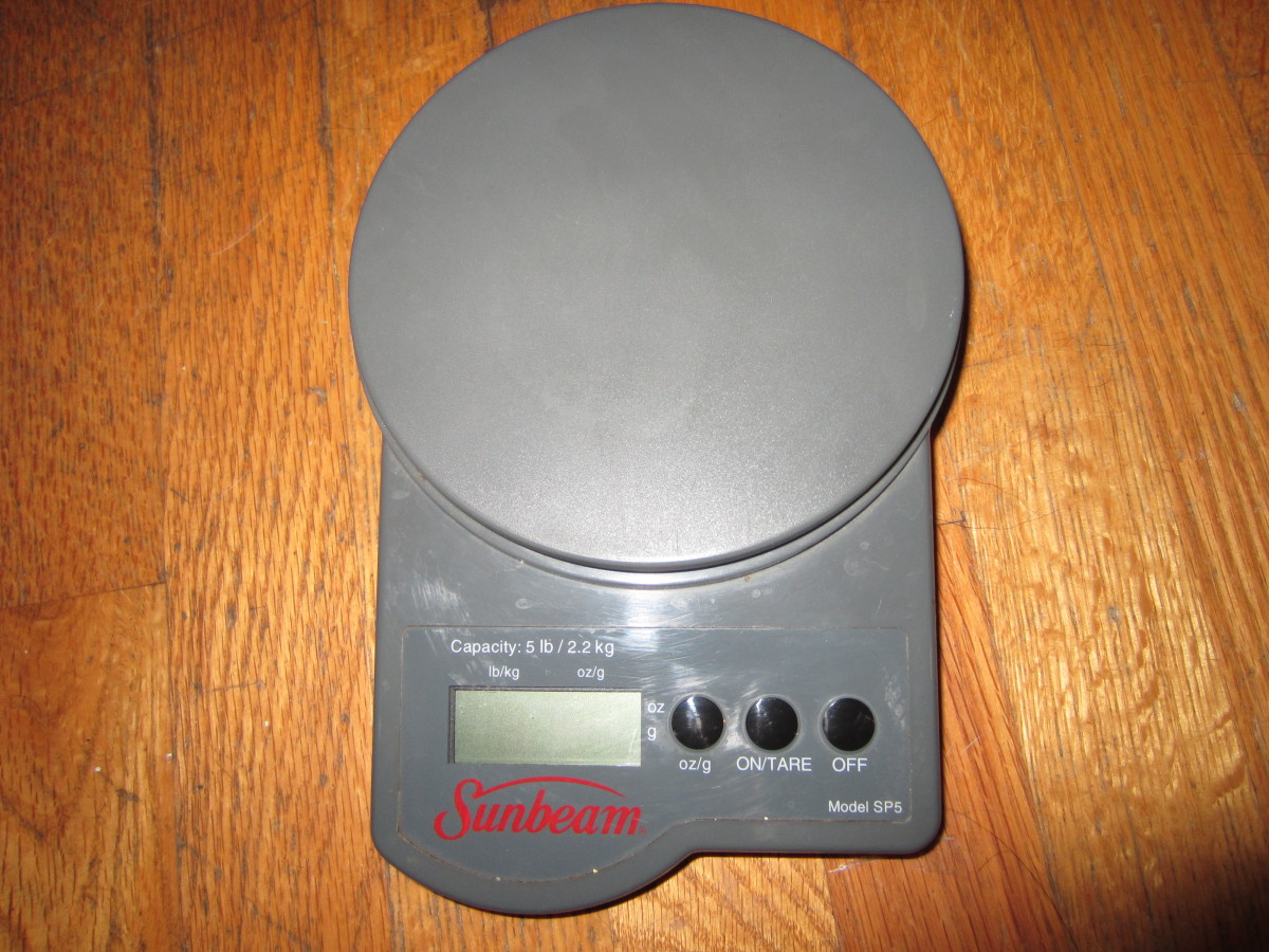 You will need a food scale like this one if you opt for a block of glycerin that hasn't been pre-scored.