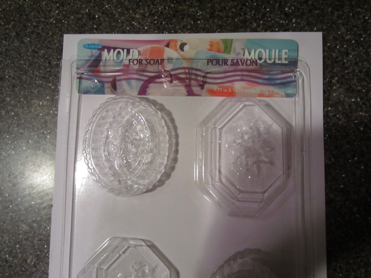 Soap molds- I got these at Michael's Craft Store