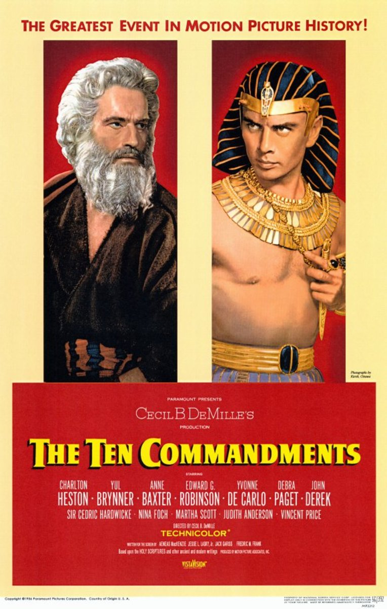 The Ten Commandments (1956) - Illustrated Reference