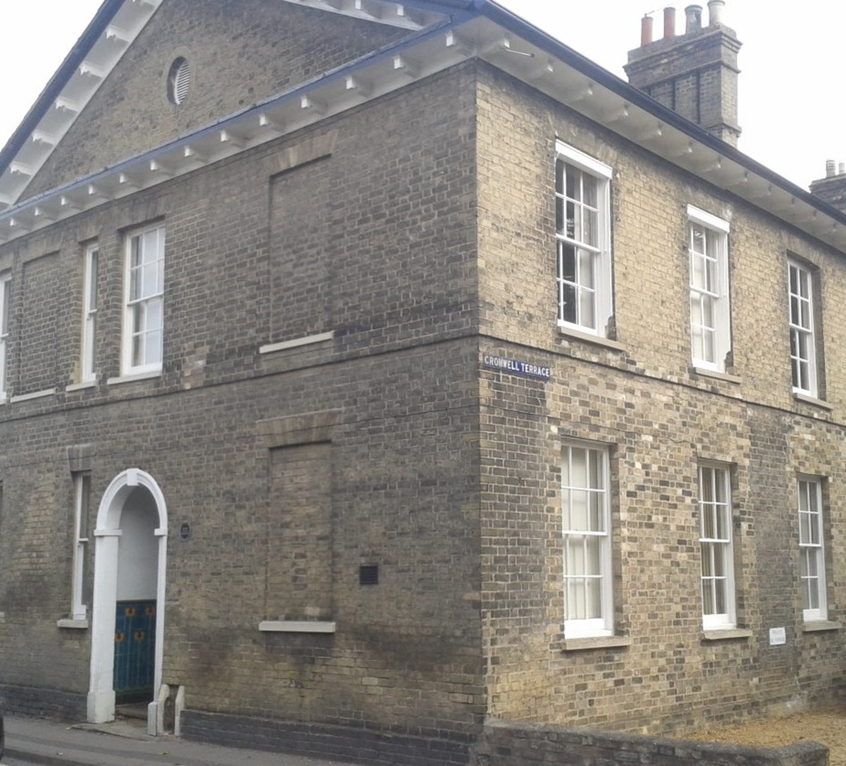 Cromwell House,St Ives.Cambridgeshire.  It Is believed that Oliver was born here, this was his uncle's house. The house is still in use today.