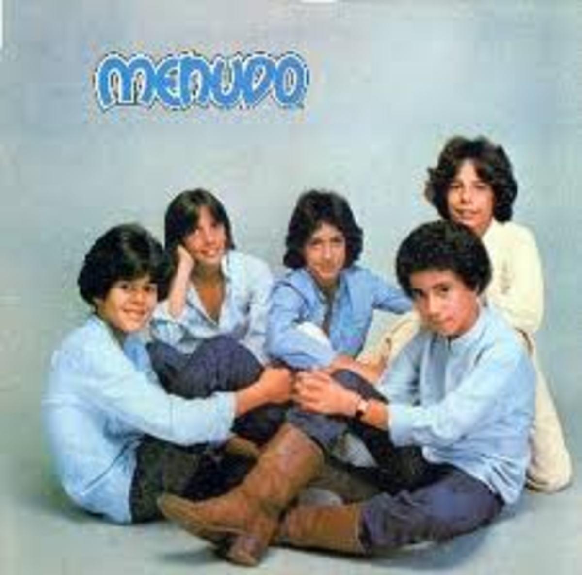Menudo's 1979 album Chiquitita.