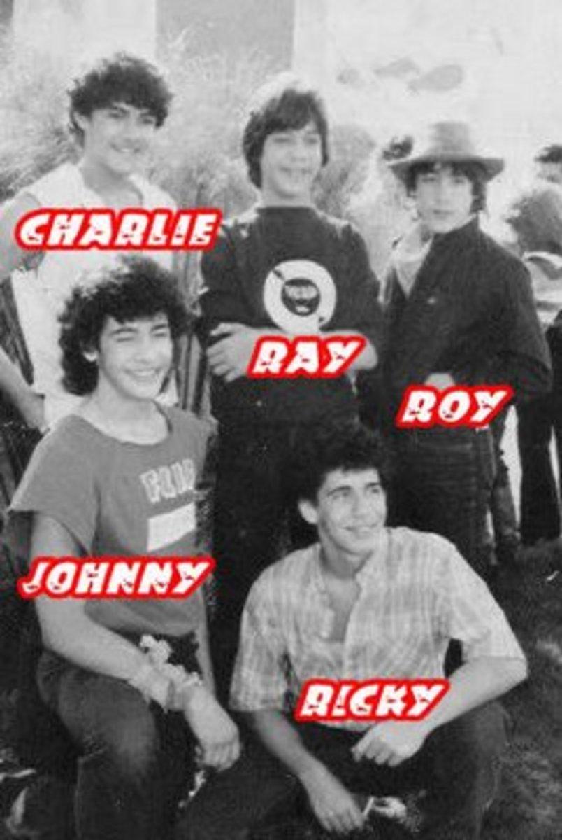 Menudo 1983 lineup