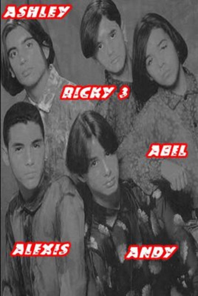 Menudo 1993 lineup members.