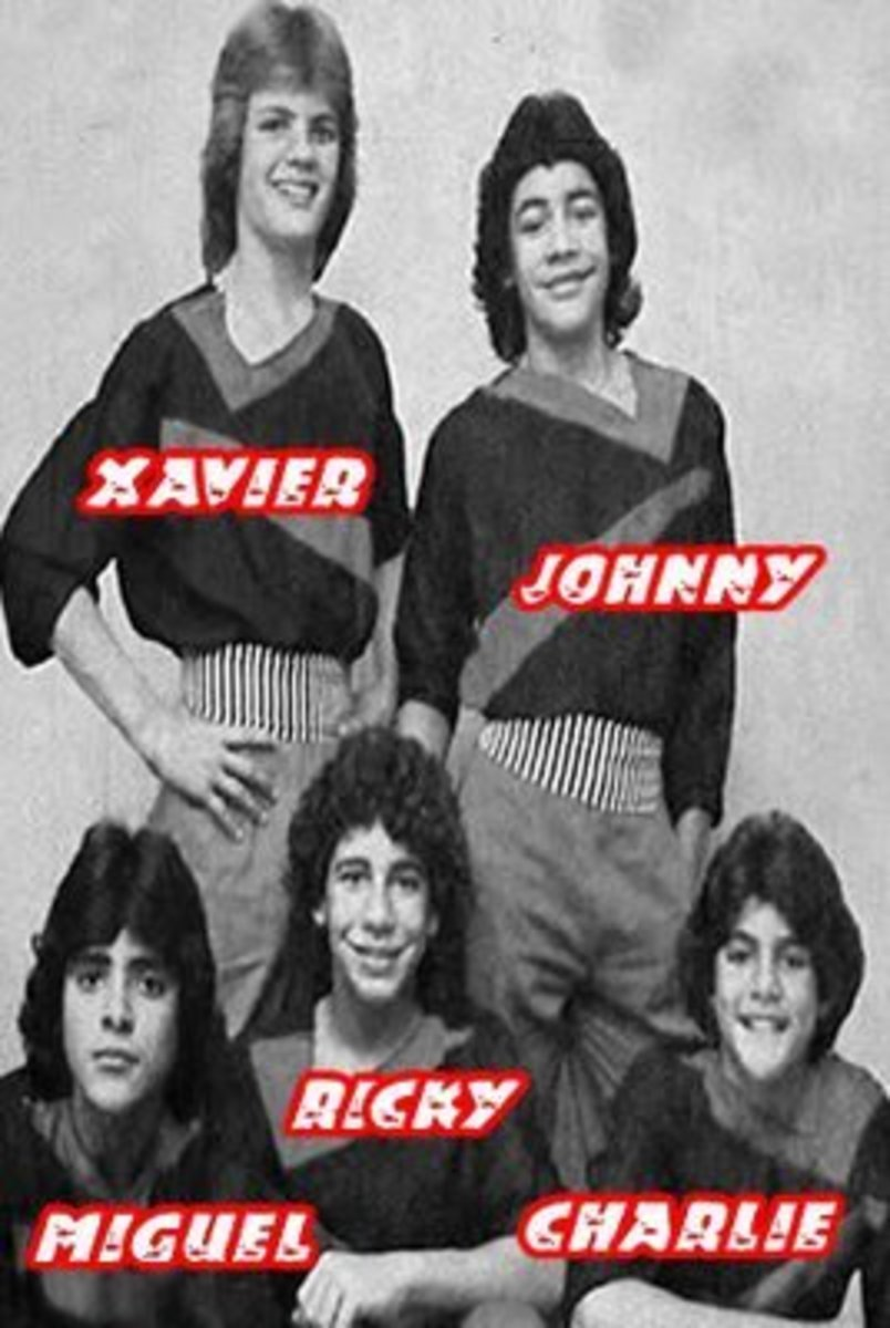 Menudo 1982 lineup.