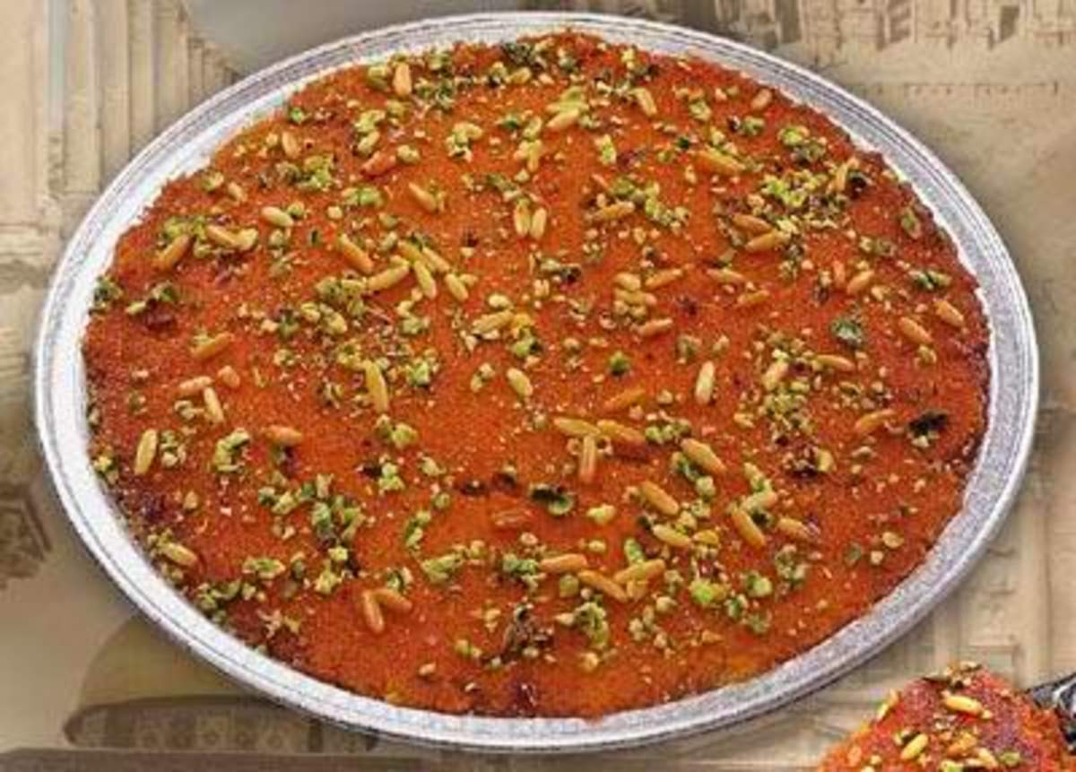 Egyptian K'nafeh