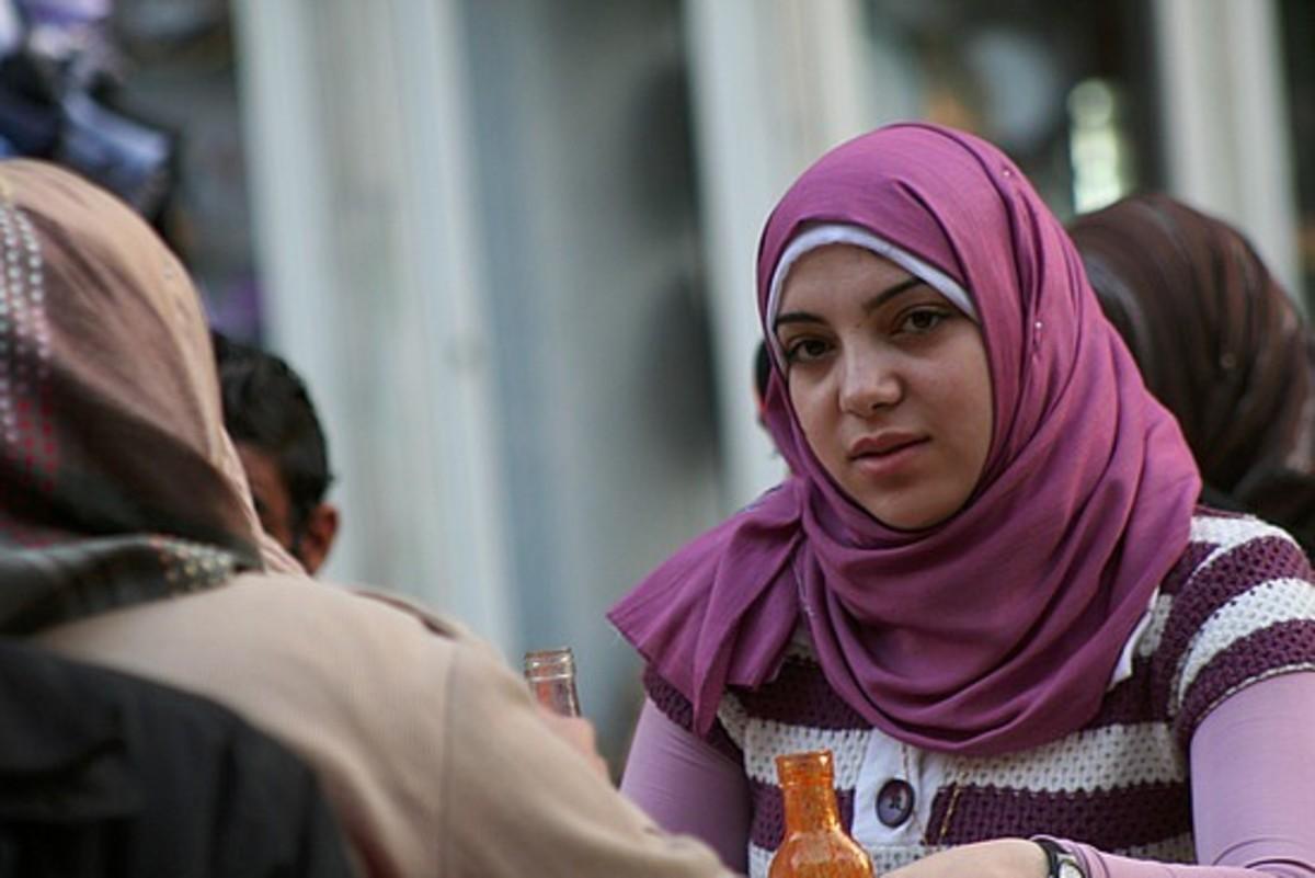 Egyptian woman in Cairo, Egypt
