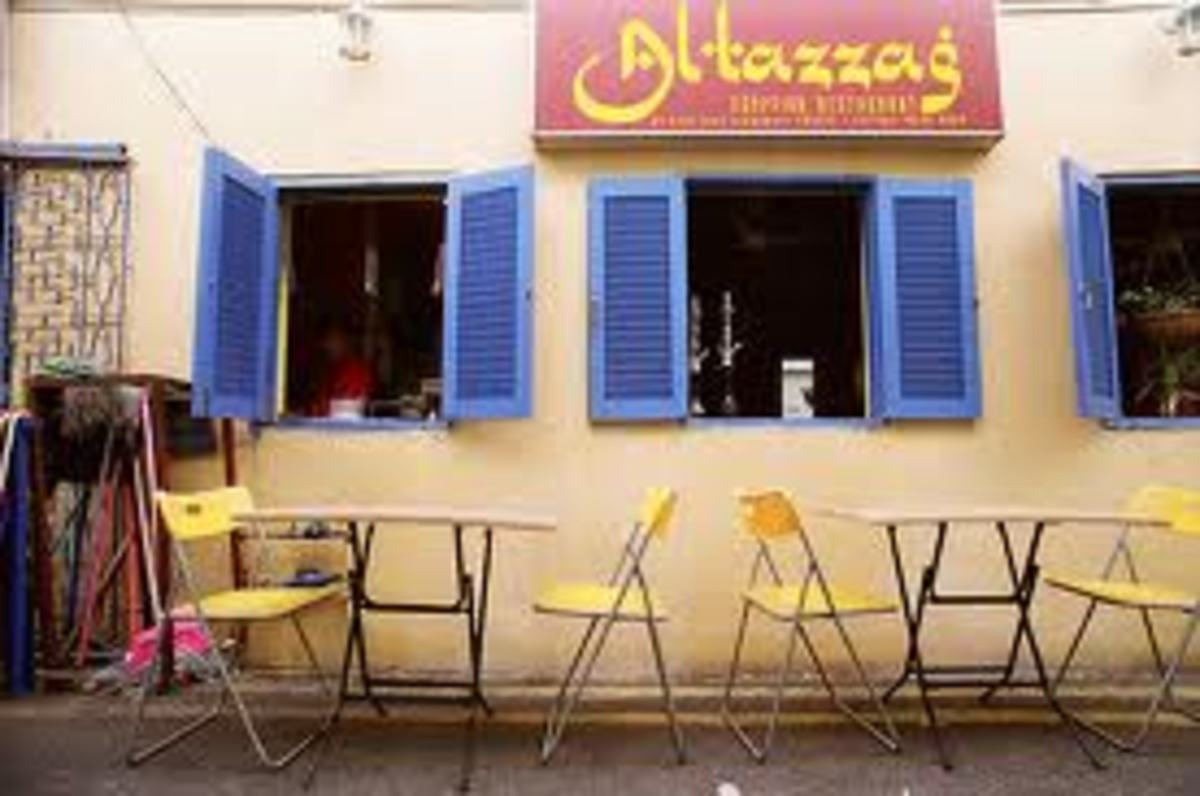 Traditional Egyptian restaurant