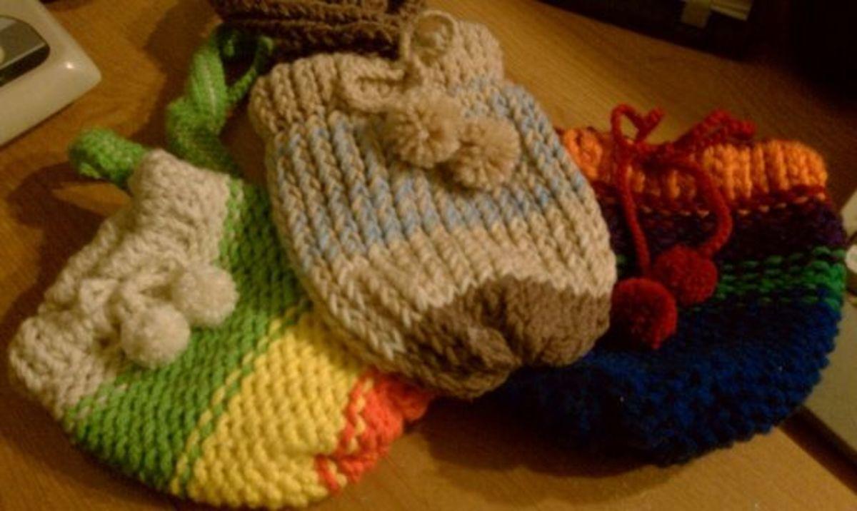 Knifty Knitter Purses