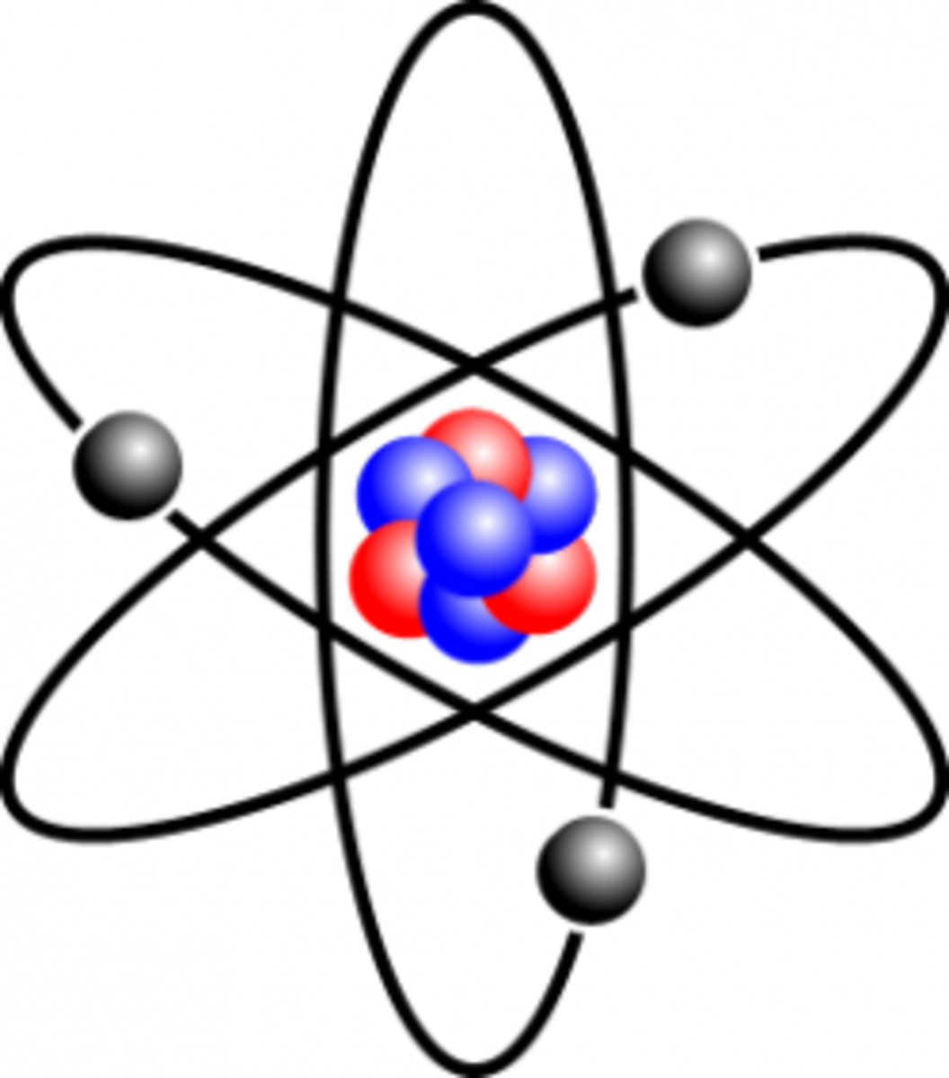 Image of lithium atom by Halfdan, under Creative Common license.