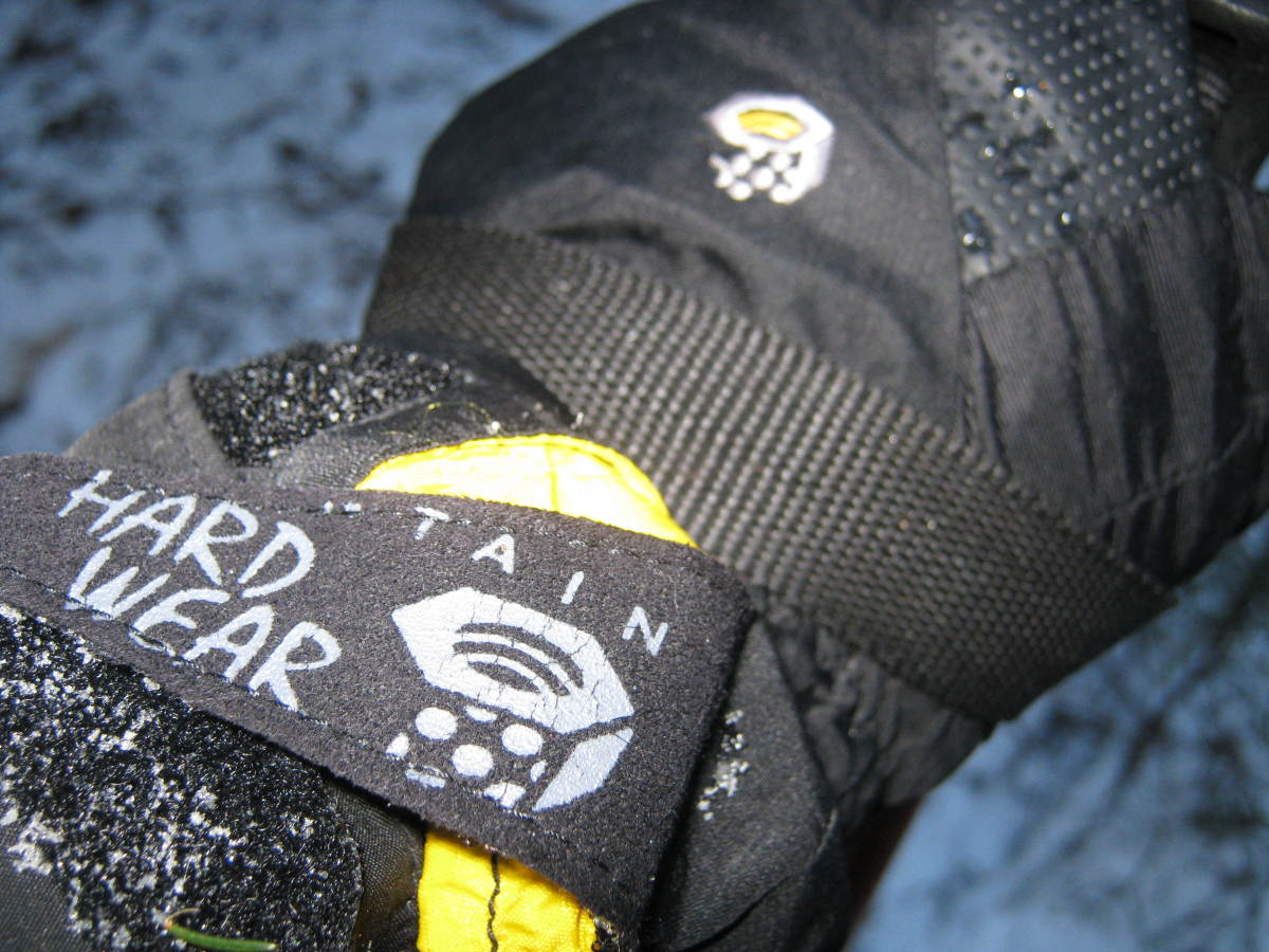 The Mountain Hardware Epic Glove is a waterproof glove perfect for cold weather hiking and backpacking.