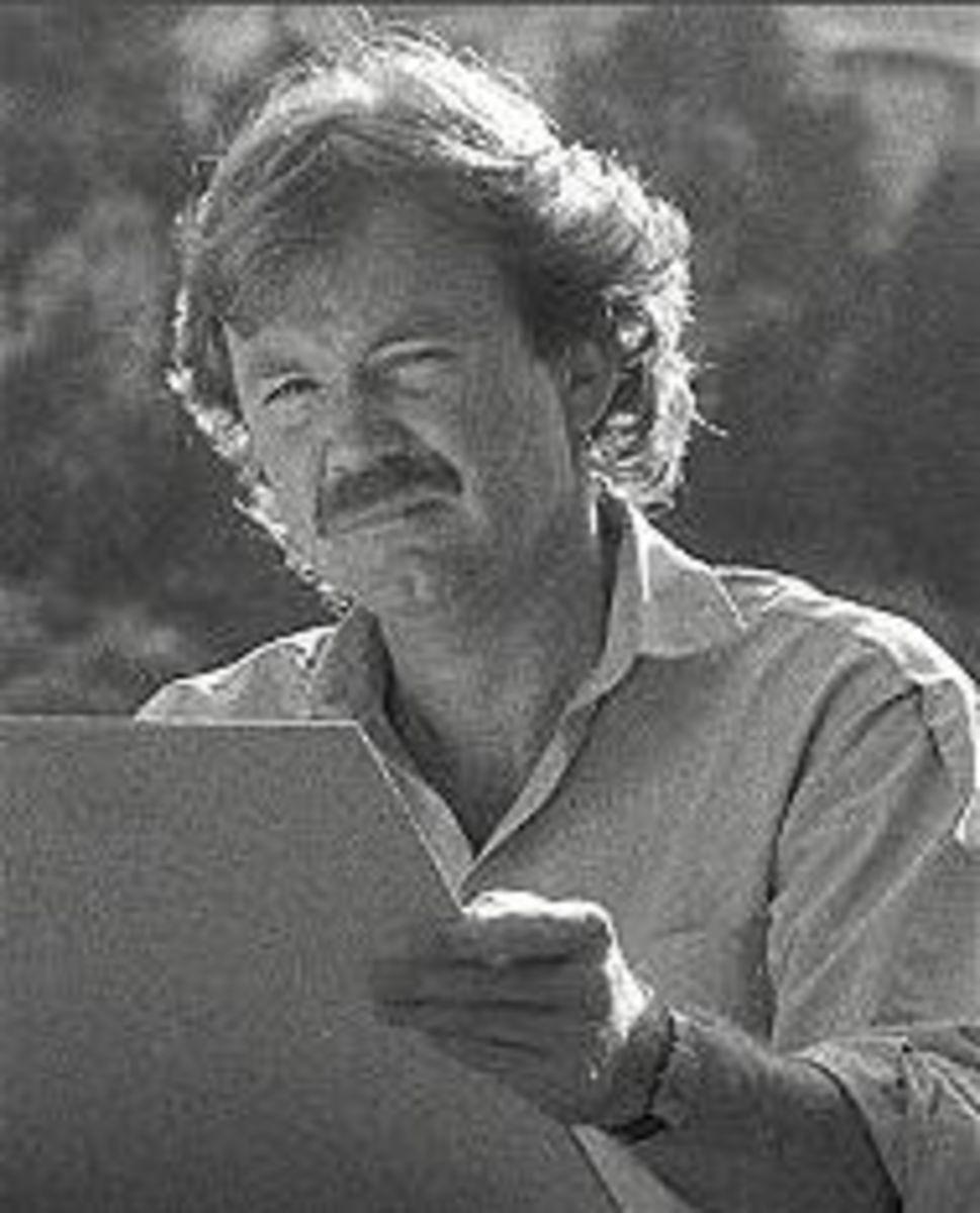 Artist David Lloyd Glover