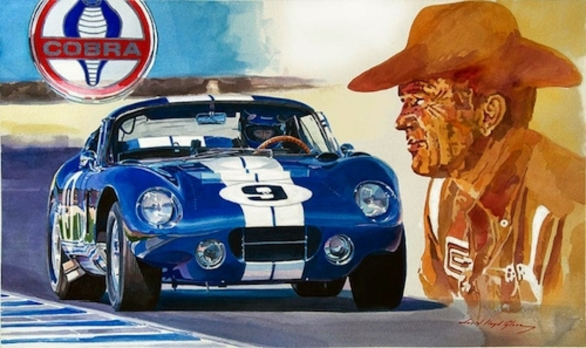 64 Cobra Daytona Coupe by David Lloyd Glover