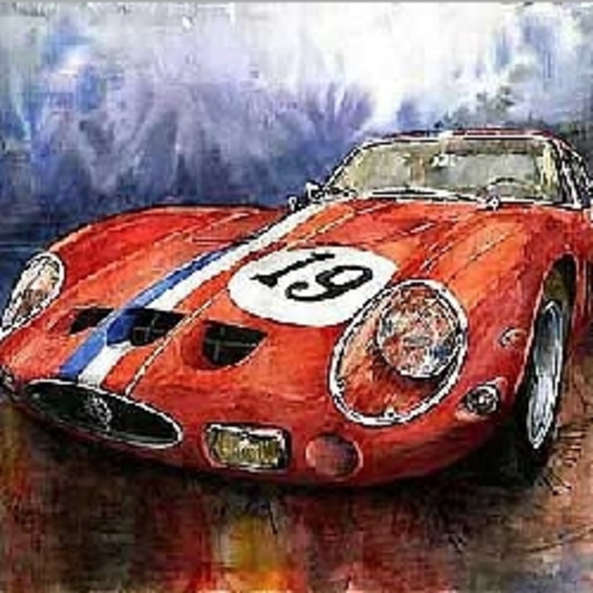 Automotive Paintings & Fine Art