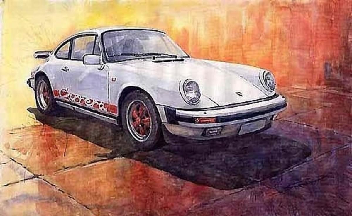 Porsche 911 Carrera by Yuriy Shevchuk