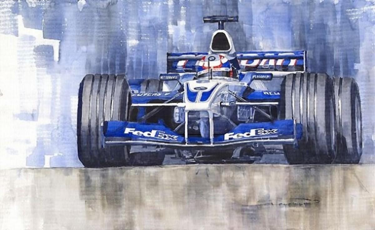 Williams BMW FW24 2002 Juan Pablo Montoya by Yuriy Shevchuk