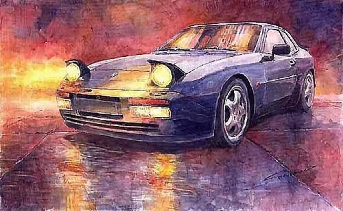 Porsche 944 Turbo by Yuriy Shevchuk