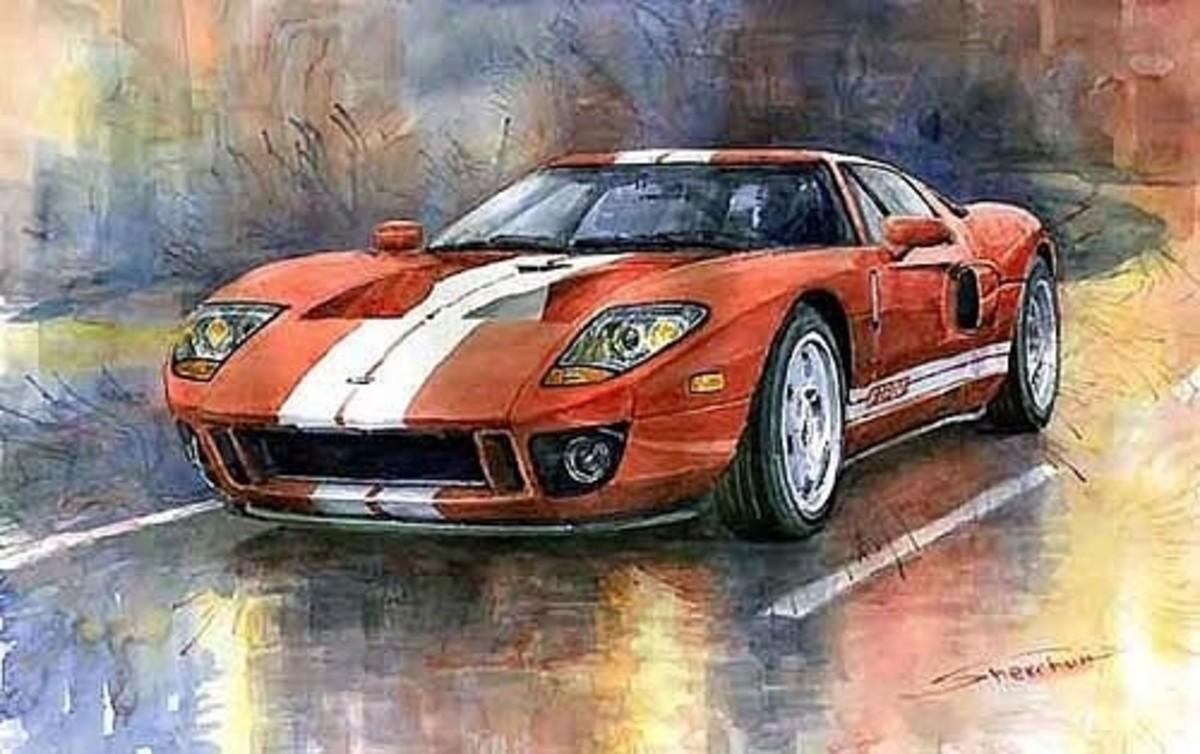 Ford GT 40 2006 by Yuriy Shevchuk