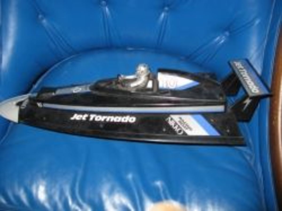 old rc boat