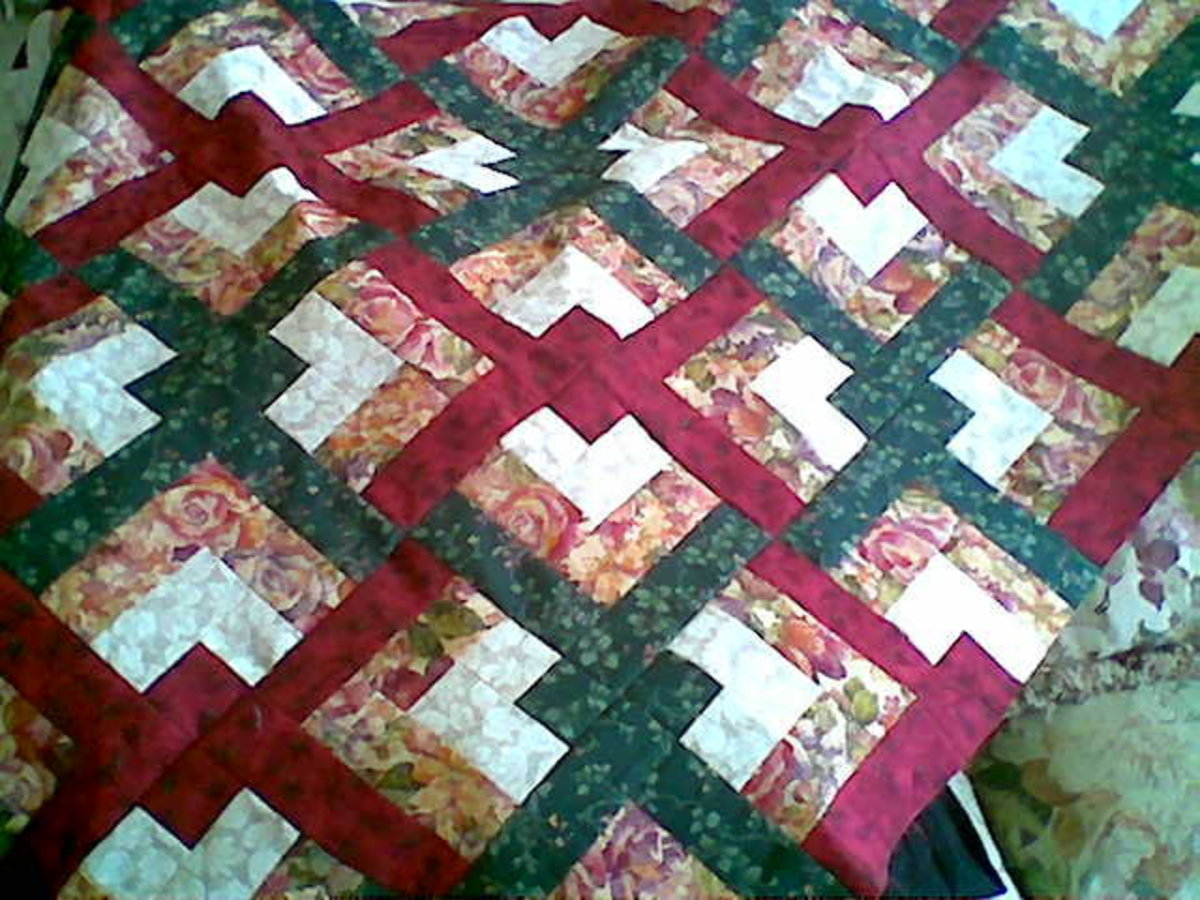 Lovers Knot Quilt: Easy Strip Piecing : Paperback : Eleanor Burns