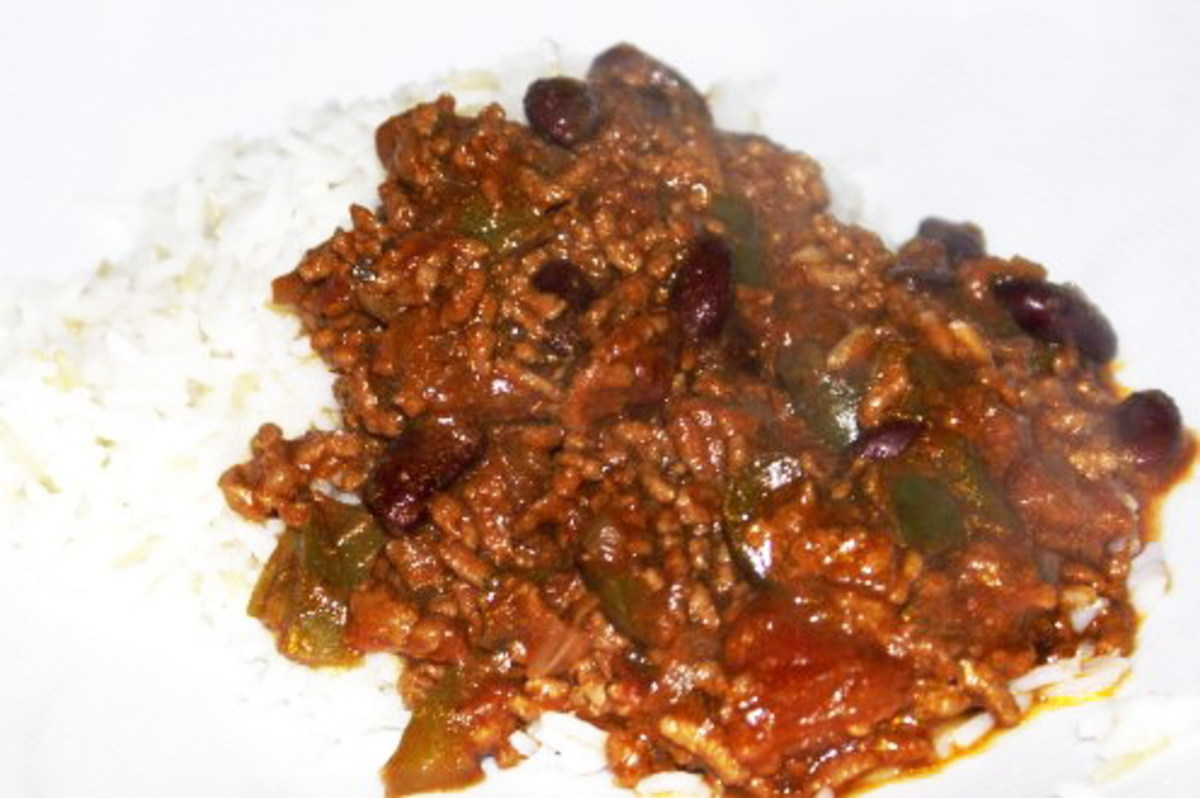 Hot and delicious Chilli Con Carne